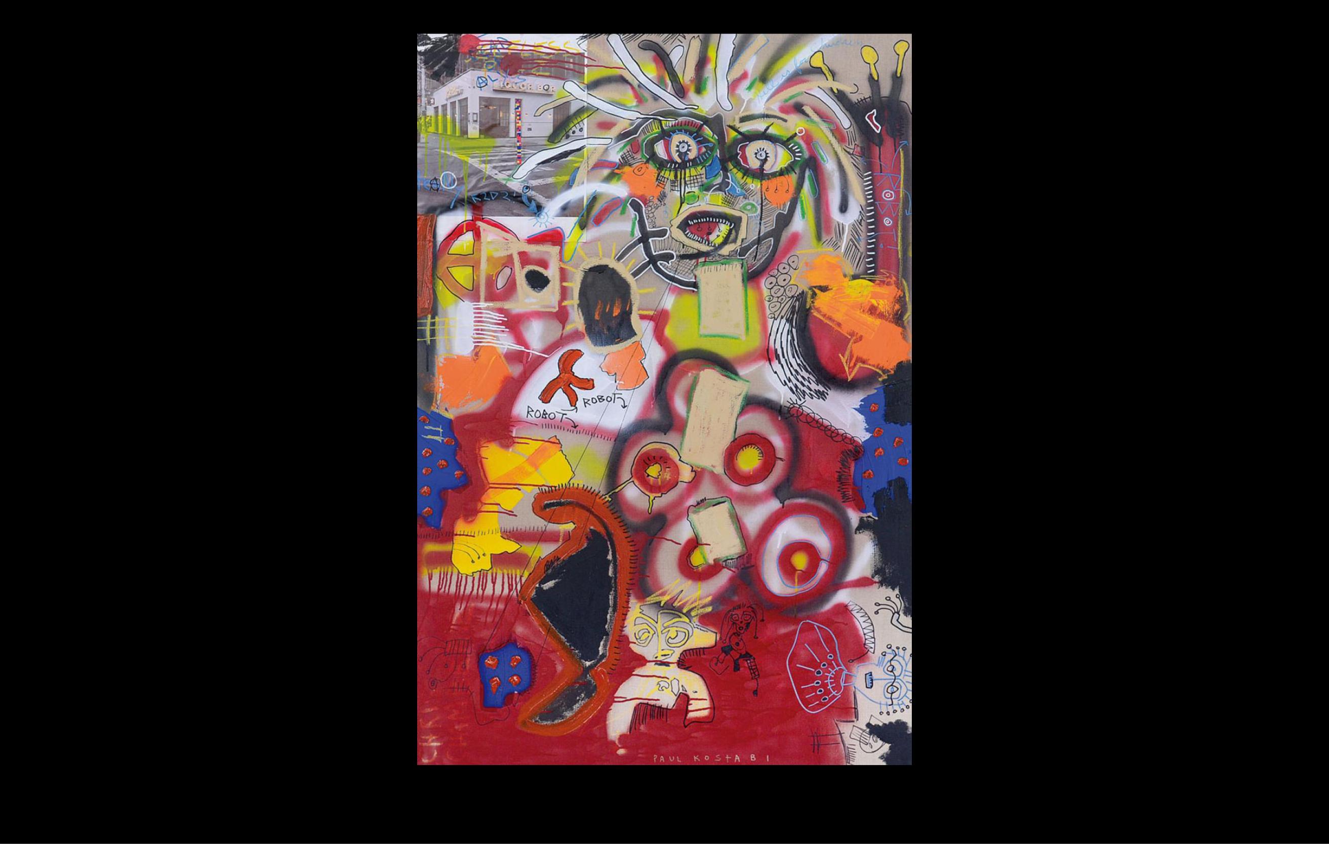 Chelsea Auction House - Slide Paul Kostabi