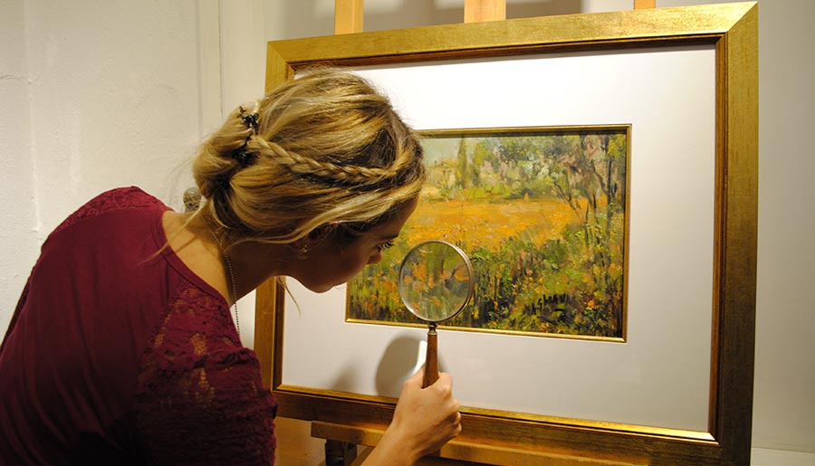 The most important aspect of art valuation is finding the right person with the specific expertise to correctly and reliably categorise your art piece